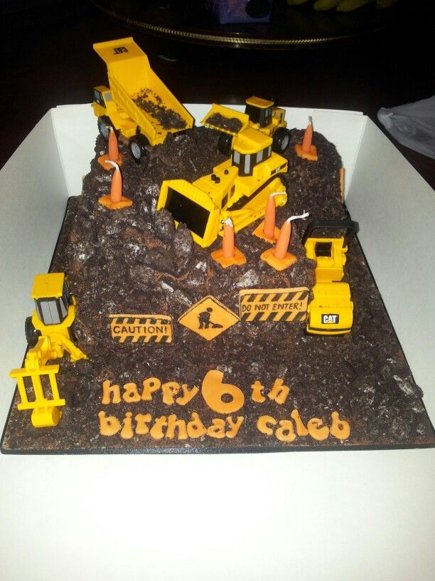 Pin pin construction site cake my little boys 6th birthday lego on