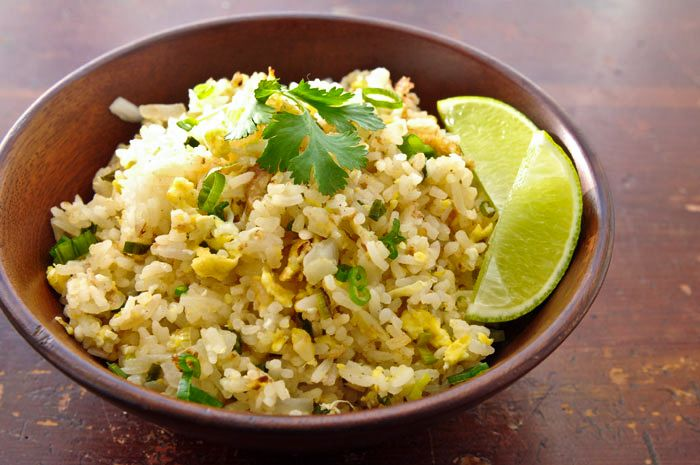mmmm...Thai Fried Rice. If you try it, definitely make it with nam pla ...