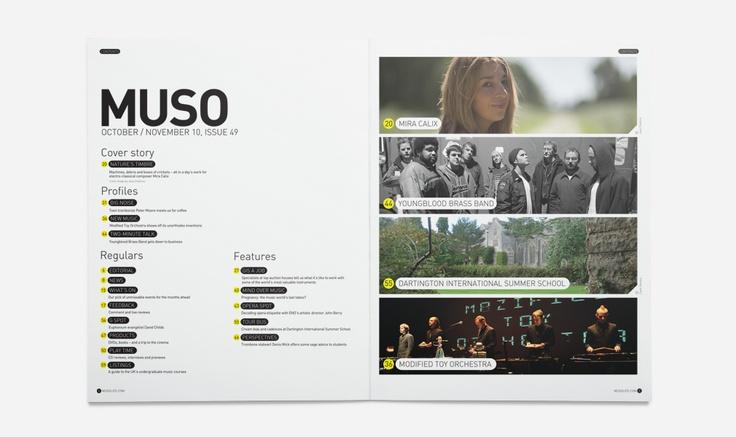 Muso #Layout #Design #Magazine #Editorial