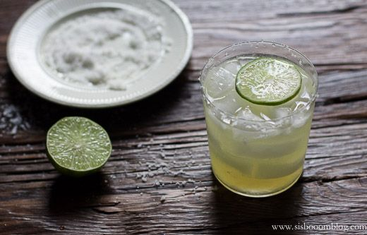 Real Agave Margarita | silver tequila, lime juice, agave nectar, water ...
