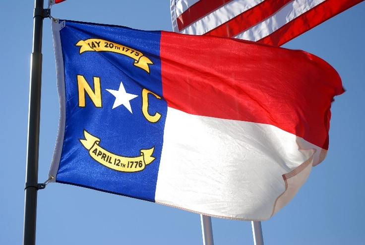 north carolina flags