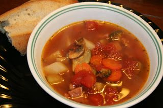 Ham And Vegetable Soup | Recipe