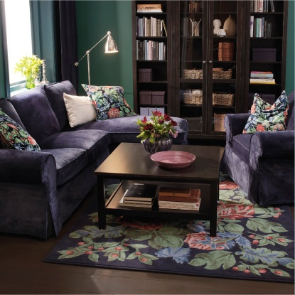Plum living room house beautiful pinterest for Plum living room designs