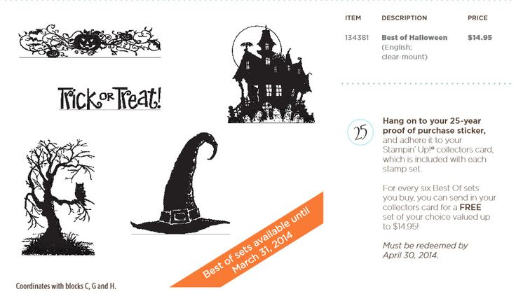 Best of Halloween - Stampin' Up!