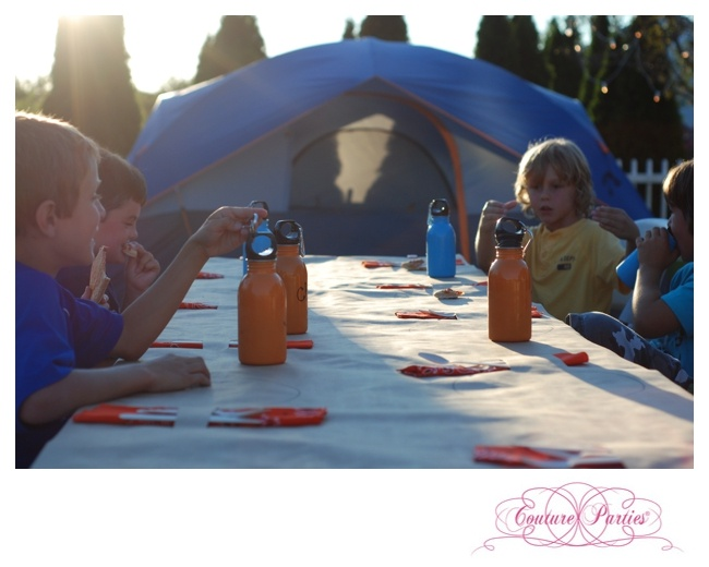 Camping In The Backyard Birthday Party : Camping Party in the backyard  Party Ideas  Pinterest