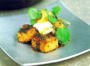 Pan-Fried Tofu with Caramelized Sauce Recipe