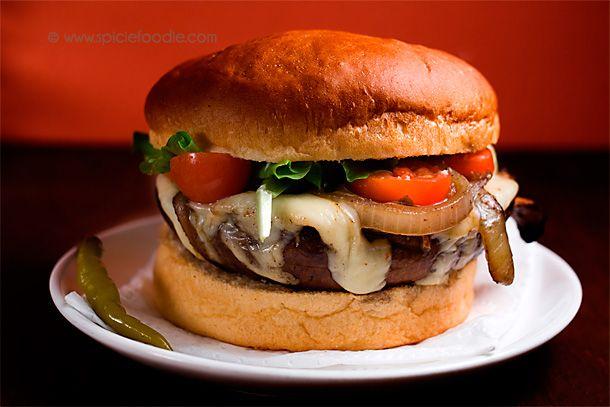 Portobello Mushroom Burgers | You don't have to skip burgers on # ...