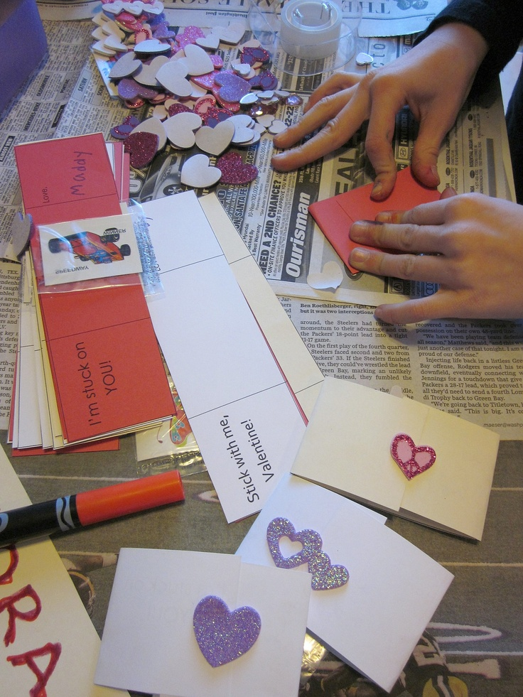 cute homemade valentines day cards for him