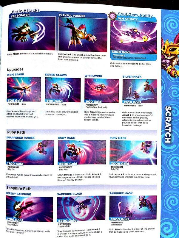 Scratch Skylanders Swap Force Book   Skylanders   Pinterest