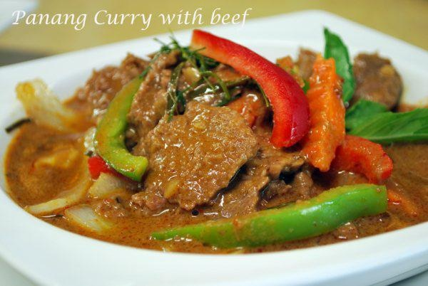 Panang Curry with Beef | Thai Food