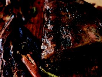 Beef Brisket Braised in Red Wine, Wrapped in Bacon | Recipe