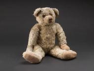 The original Winnie the Pooh on display at the Stephen A. Schwarzman Building, Children's Center-New York City.