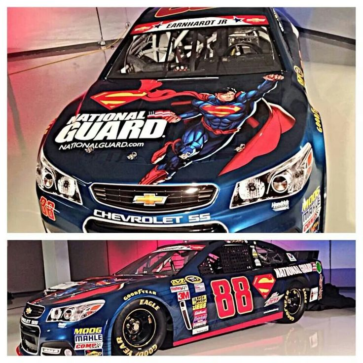 Superman paint scheme coca cola 600 in charlotte may 2014
