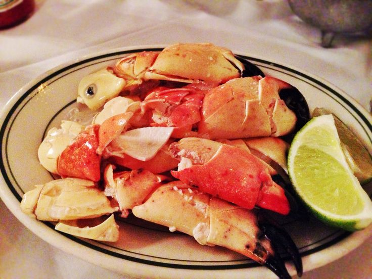 are the lobster of South Florida. And Joe's Stone Crab mustard sauce ...