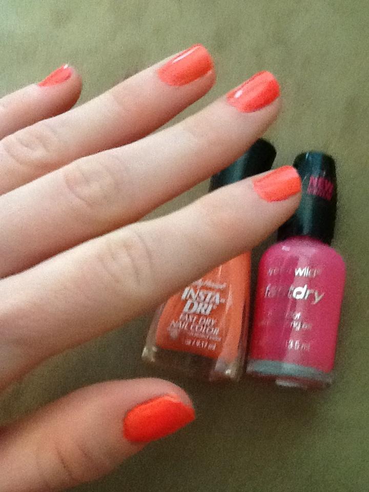 Perfect Summer Nail Color.