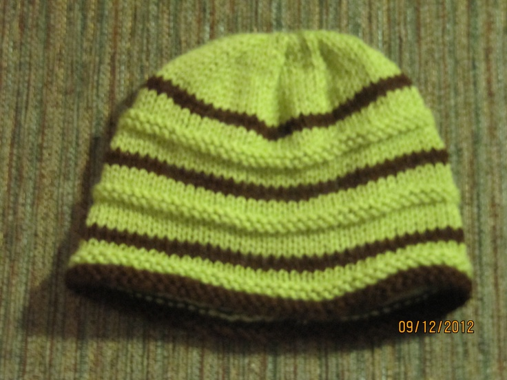 Knit Baby Hat Pattern Pinterest : Knitted baby hat Some things I have made Pinterest