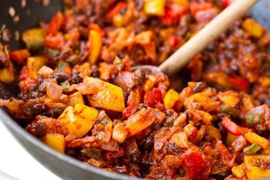 Naughty & Nice Vegan Enchilada Casserole | The veggie life. | Pintere ...