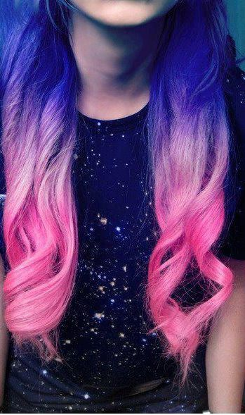 Mixed Colors  Tumblr  Hair Color Ideas  Pinterest
