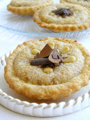 Coconut and Chestnut Cream Tartelettes | Sweet Tarts | Pinterest