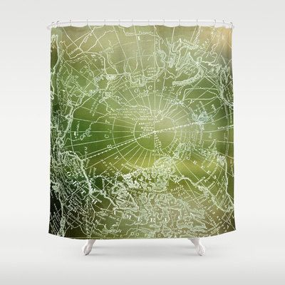 White Cotton Eyelet Curtains Green and Brown Shower Curtain