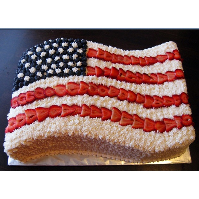 fourth of july cake videos