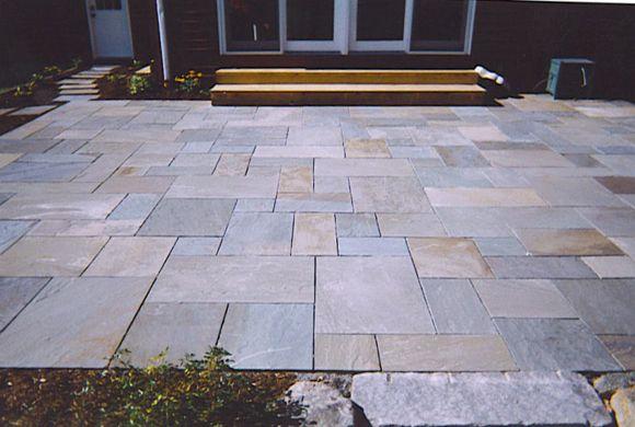bluestone patio pavers my style pinterest