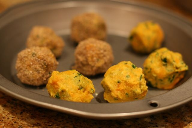 Baked!) Sweet Potato Falafel Balls | Edible Alternatives | Pinterest