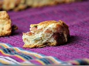 Bacon Cheddar Chive Scones | Breads, Rolls, and Muffins | Pinterest