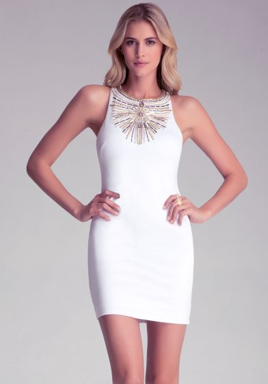 Perfect fit grab a cocktail wearing our sunburst racerback dress