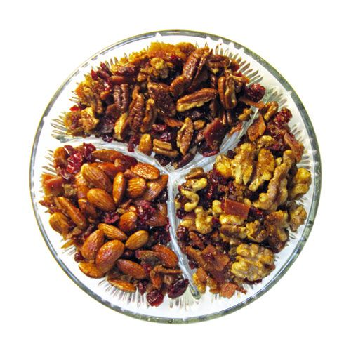 and spicy cranberry maple peppered BACON bar nuts. This holiday mix ...