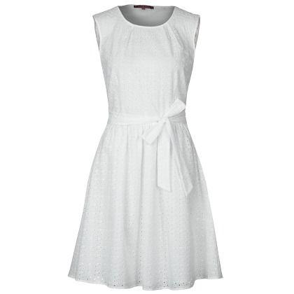 robe d 39 t blanche de mint dresses ideas pinterest. Black Bedroom Furniture Sets. Home Design Ideas