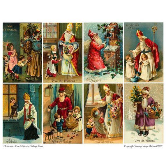 Vintage St. Nicholas | VIVE ST NICHOLAS - VINTAGE CHRISTMAS POSTCARDS ...