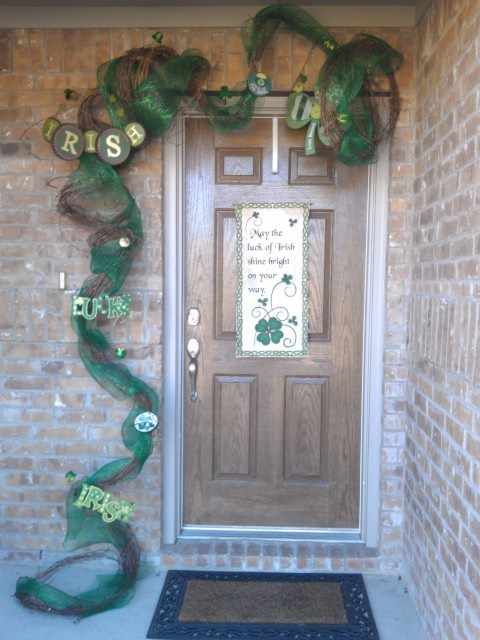 My st patrick 39 s day decor for the home pinterest for St patricks day decorations for the home