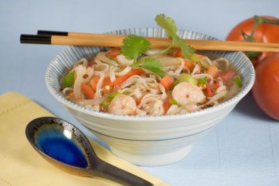 Seafood Pad Thai Noodle Soup | Food | Pinterest