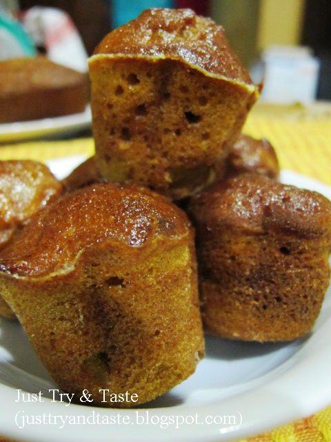 Just Try & Taste: Muffin Labu-Jahe-Kacang (Pumpkin Ginger Nut Muffins)