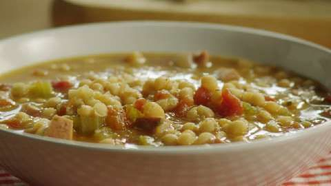 Navy Bean Soup I Allrecipes.com seems early for soup but it just ...