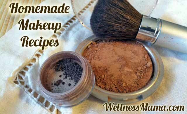 Homemade Makeup Recipes Natural Body Pinterest