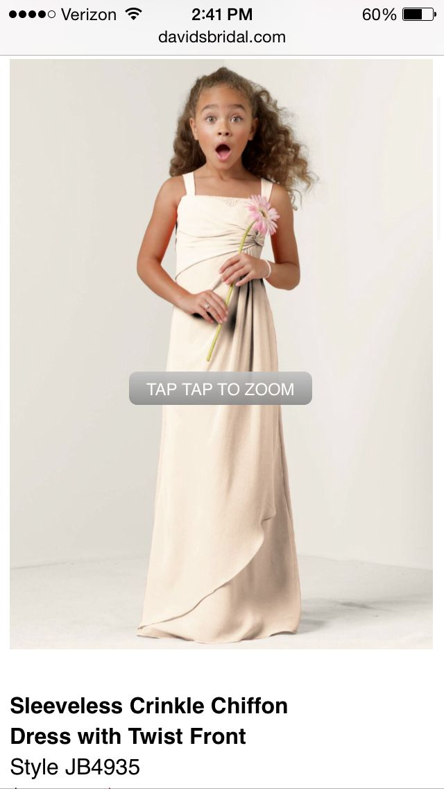 Yellow Junior Bridesmaid Dresses 7