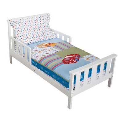 Bedroom Right With The Trend Lab Nascar 4 Piece Toddler Bedding Set