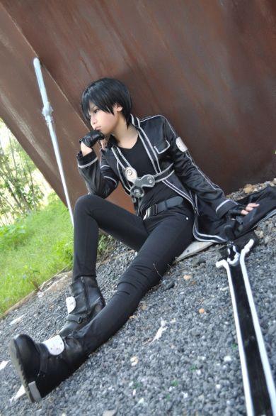 Kirito Cosplay   Geeky and Anime things. (^.^)   Pinterest