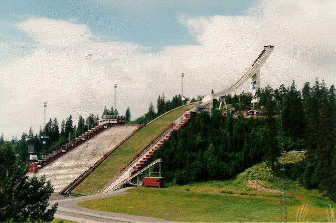 ski jump holmenkollen