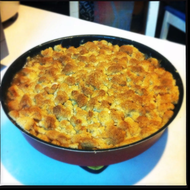 Homemade apple crumble | Yummy | Pinterest