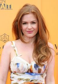 Isla Fisher, as seen in MODERN SALON.