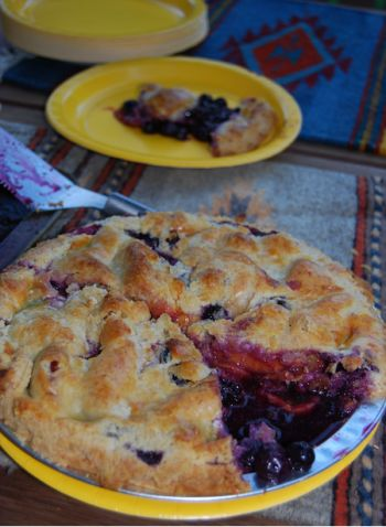 Blueberry Peach Pie | Food-oh, can it! | Pinterest