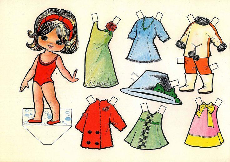 Как нарисовать бумажную куклу с одеждой своими руками