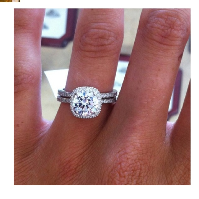 Dream Wedding Ring Im Getting Married Pinterest