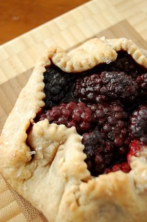 Marionberry Galette | Delicious | Pinterest