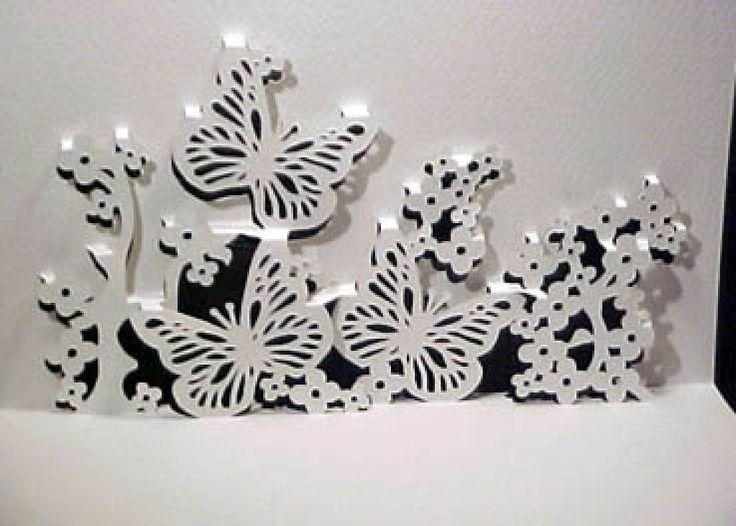 Kirigami paper art pinterest for Kirigami paper art