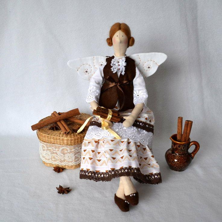 Корица Фея Тильда кукла ручной работы POR OksanaGryts ан Etsy, $ 48,00