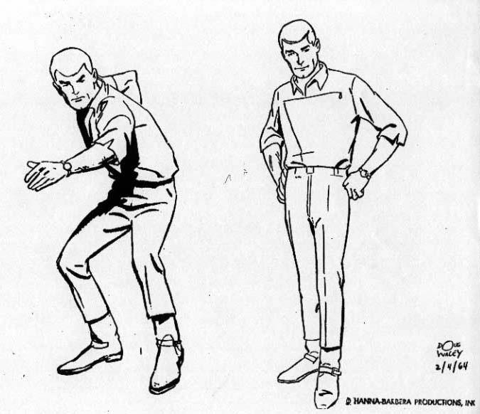 jonny quest-Race Bannon art | Jonny Quest 50th Anniversary (1964-65 ...